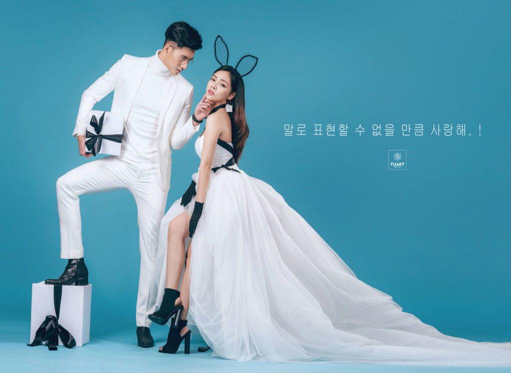 Bí quyết chụp hình cưới đẹp teong Studio 2