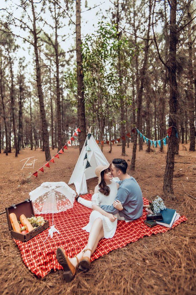 chụp ảnh cưới Đại Lải