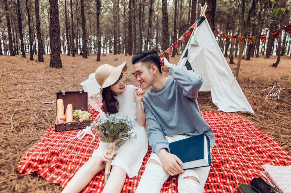 Album chụp ảnh cưới Đại Lải : Huy – Hoa