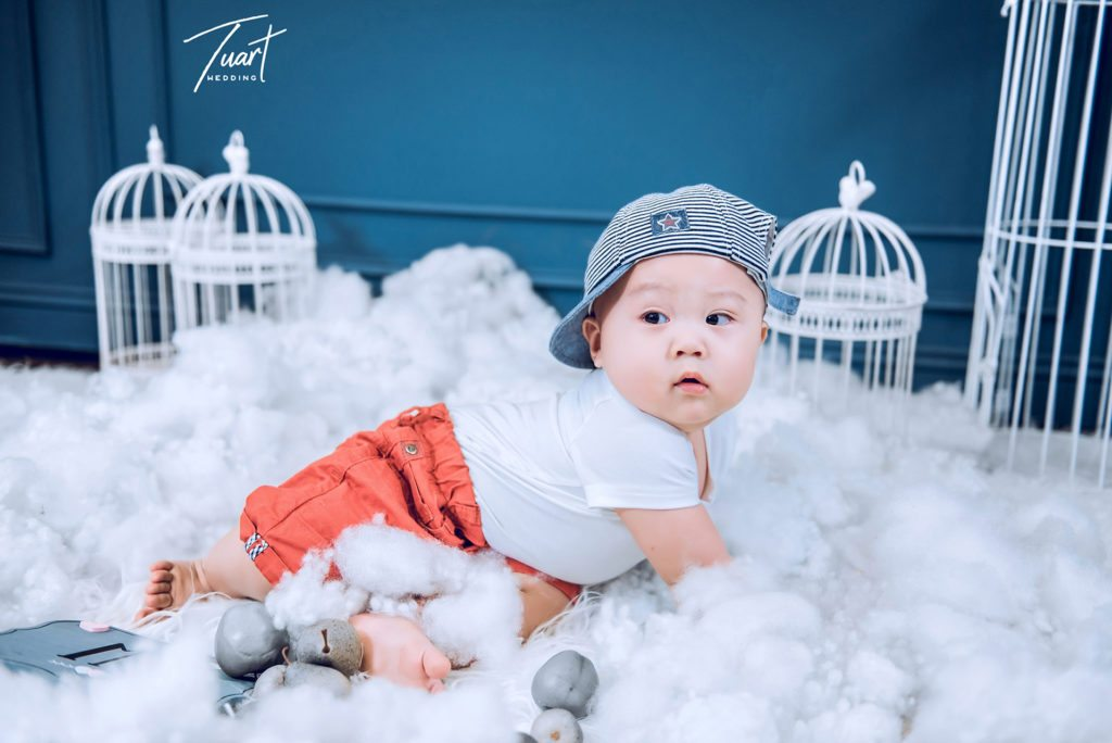 Album chụp ảnh em bé dễ thương