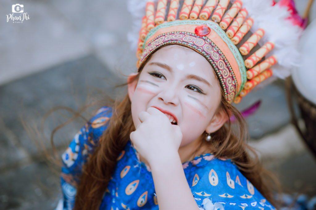 Album concept chụp ảnh cho bé Thổ Dân
