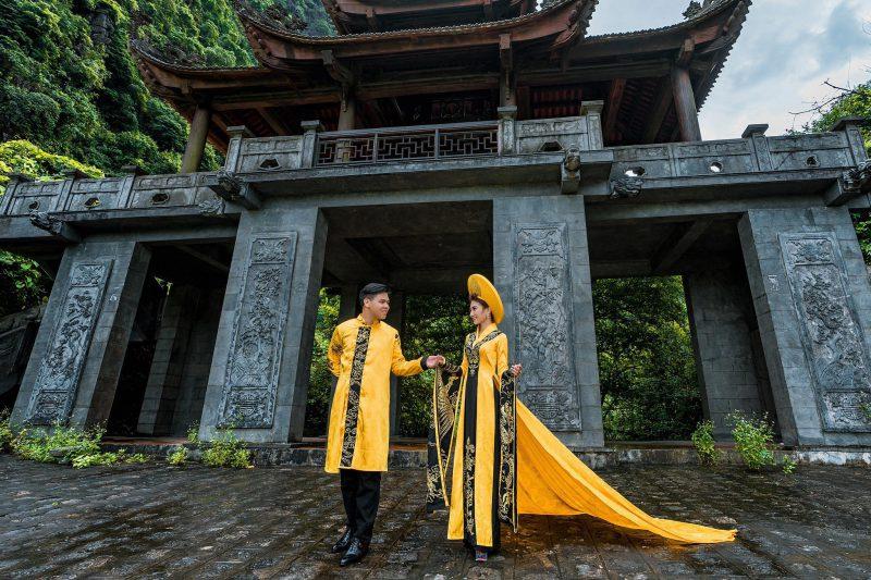 ảnh cưới áo dài đẹp