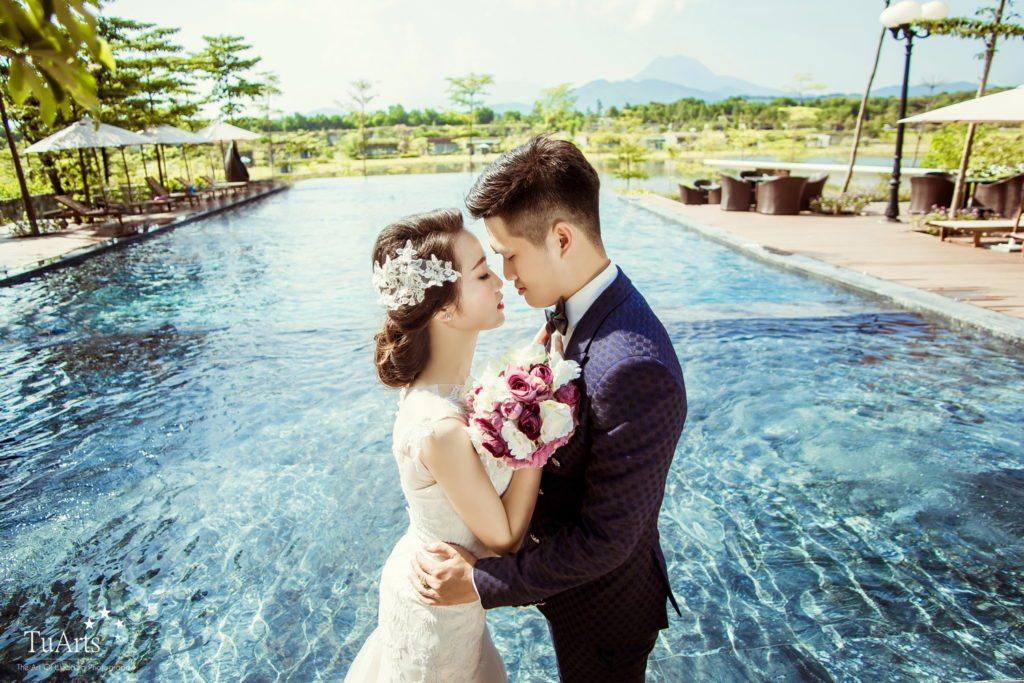 Ảnh cưới đẹp ở Flamingo Đại Lải Resort. 19