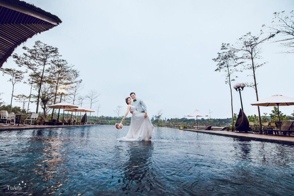 Ảnh cưới đẹp ở Flamingo Đại Lải Resort. 3