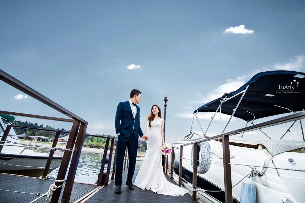 Ảnh cưới đẹp ở Flamingo Đại Lải Resort. 4