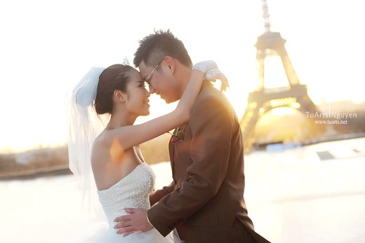 Album tại Pháp : Vũ & Hoa – Album chụp hình cưới đẹp