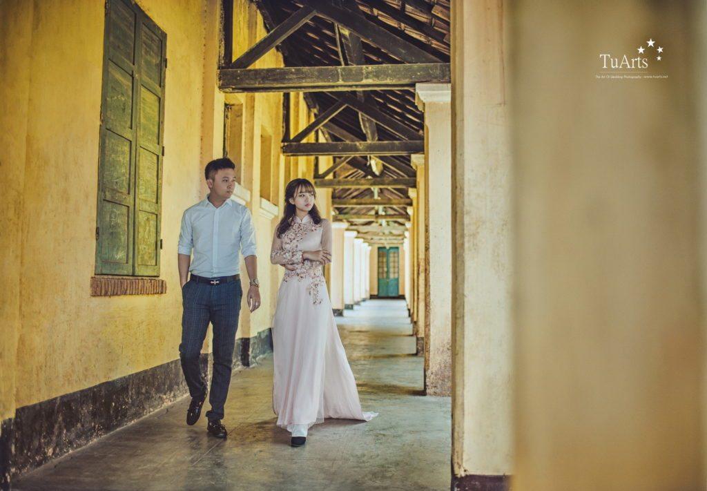 4 Lưu ý khi lựa chọn áo dài chụp ảnh cưới 1