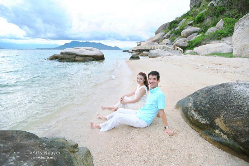 Album ảnh cưới đẹp tại Nha Trang của Hoàng – Lan
