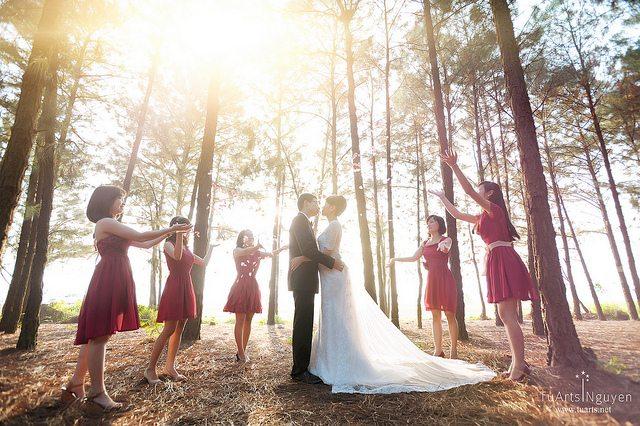 Ảnh cưới đẹp ở Flamingo 1