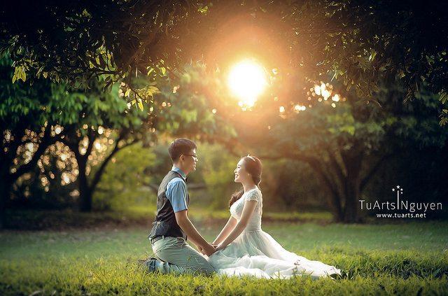 Ảnh cưới đẹp ở Vườn Nhãn
