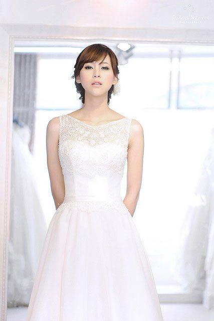 Dáng thon cho cô dâu ngày cưới 1