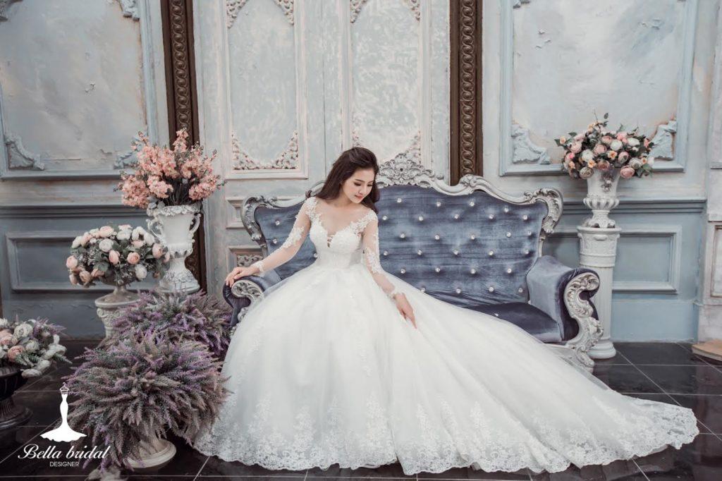 Váy cưới 3D – Xu hướng váy cưới được ưa thích