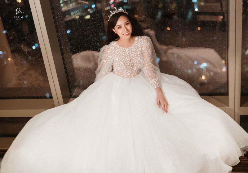 váy cưới đẹp HN324
