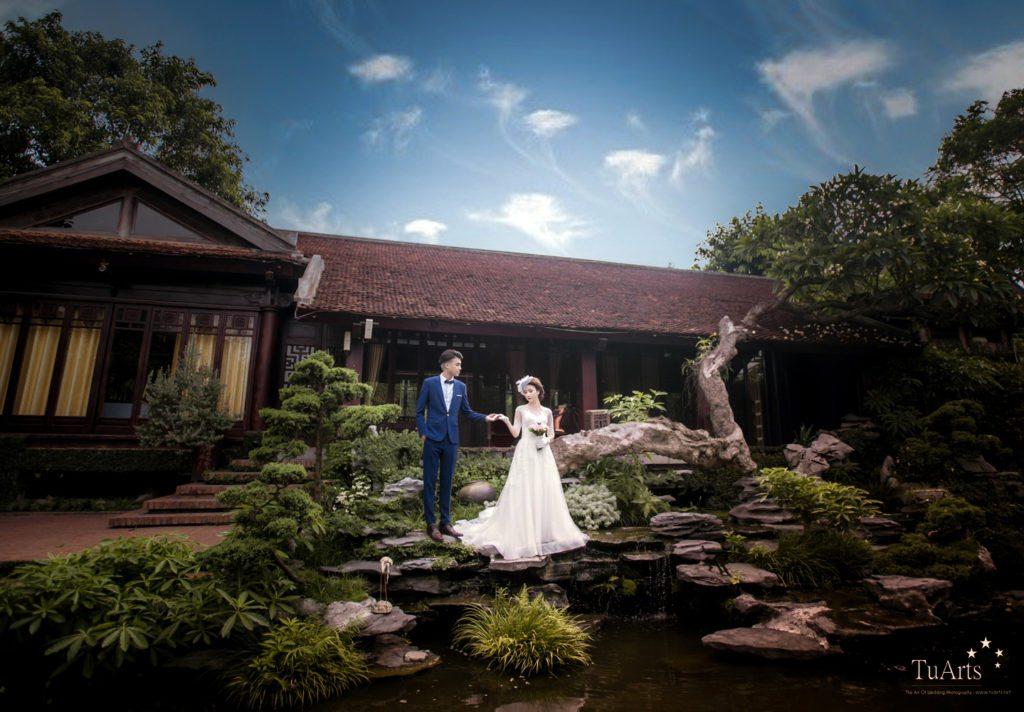 Ảnh cưới của Quỳnh Anh Suyn và Vương Anh Ole