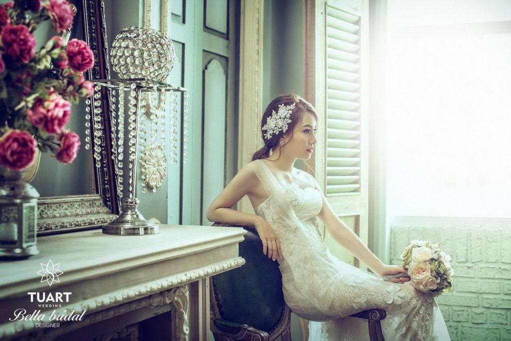 Cách chọn váy cưới đẹp cho cô dâu vóc dáng nhỏ bé