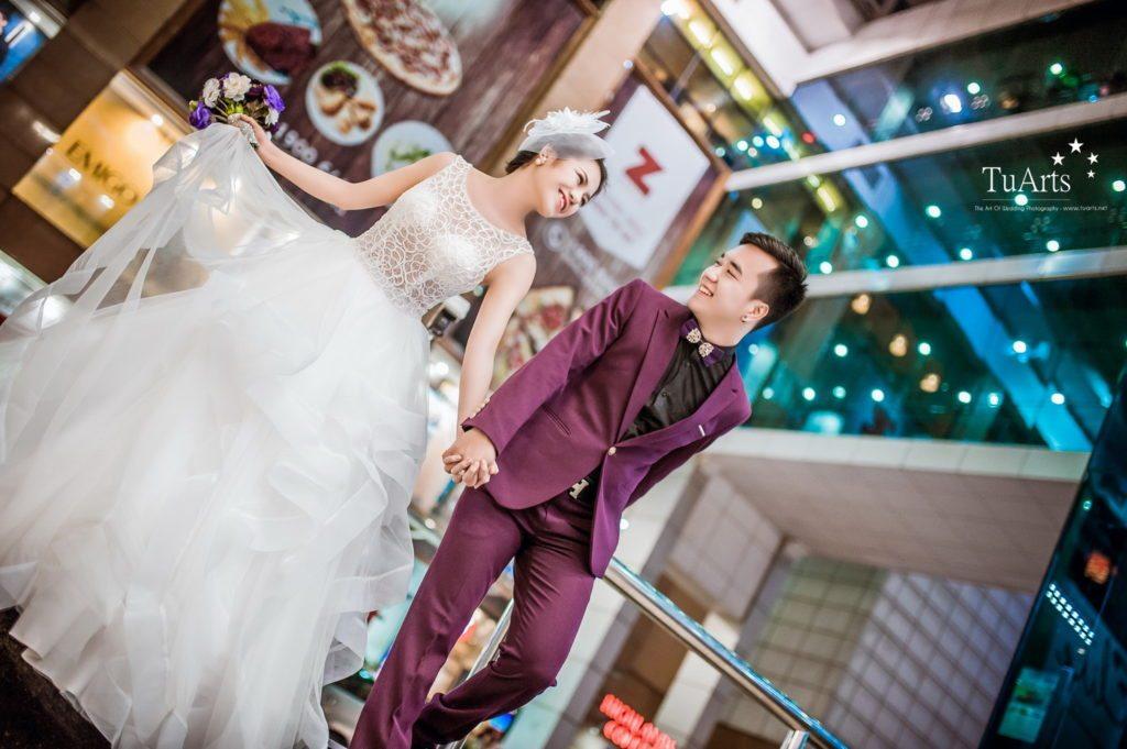 ảnh cưới đẹp tại Hà Nội phong cách châu Âu 7