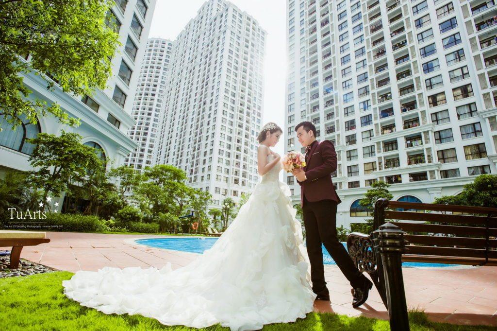ảnh cưới đẹp tại Hà Nội phong cách châu Âu 12