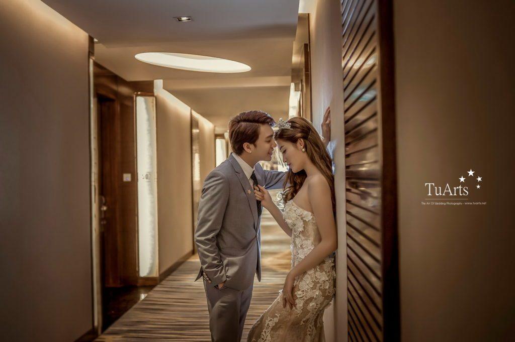 Album ảnh cưới đẹp của Á Hậu Huyền My - Hot Boy B Trần 12