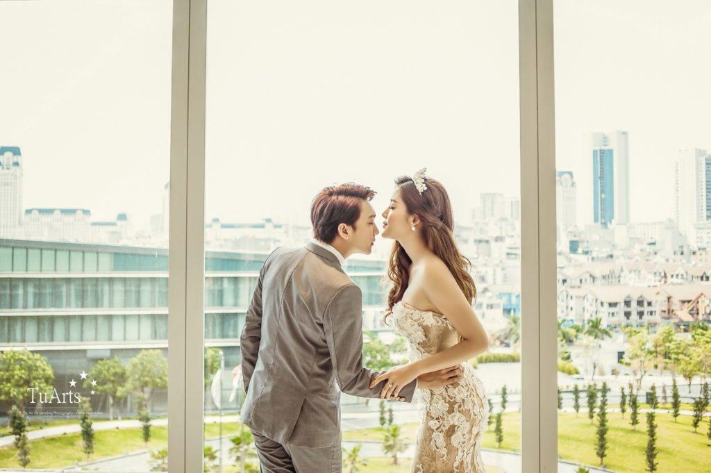Album ảnh cưới đẹp của Á Hậu Huyền My - Hot Boy B Trần 4