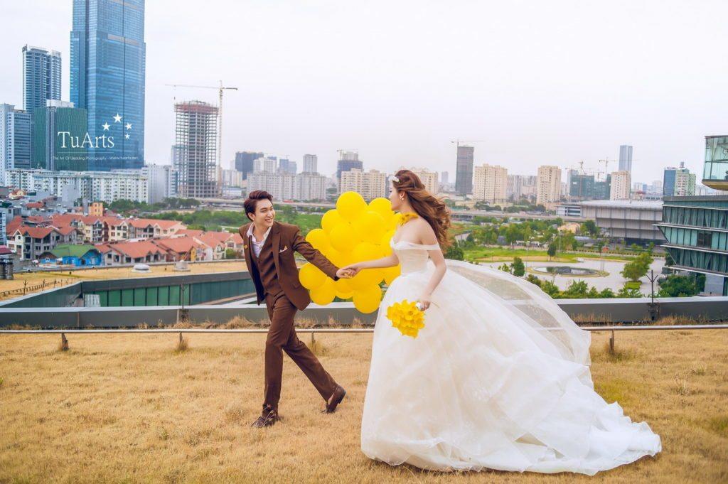 Album ảnh cưới đẹp của Á Hậu Huyền My - Hot Boy B Trần 5