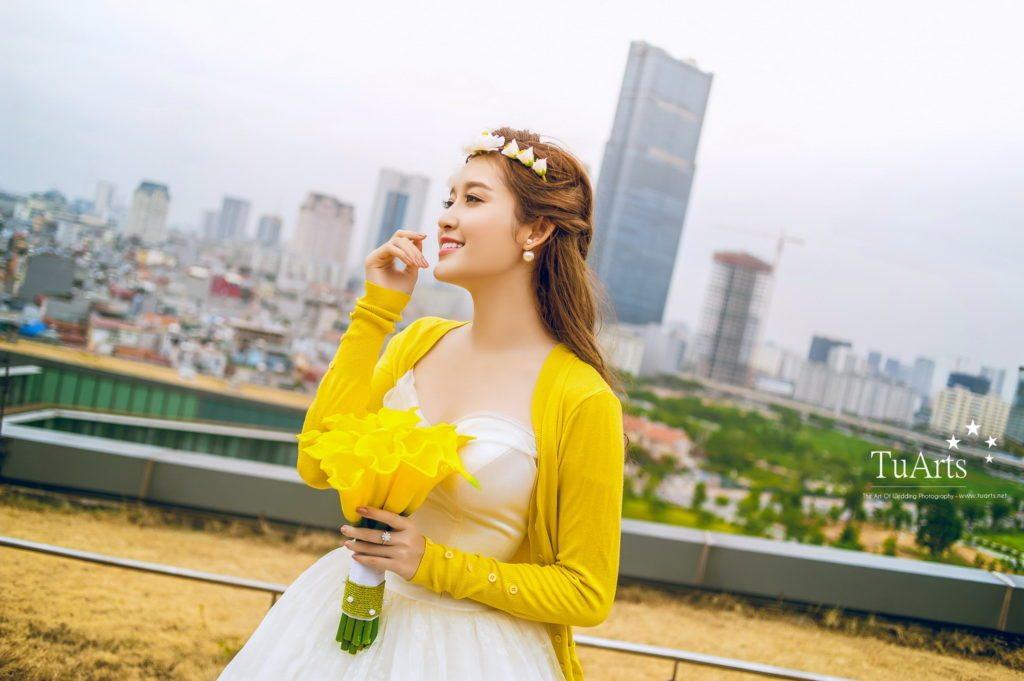 Album ảnh cưới đẹp của Á Hậu Huyền My - Hot Boy B Trần 6