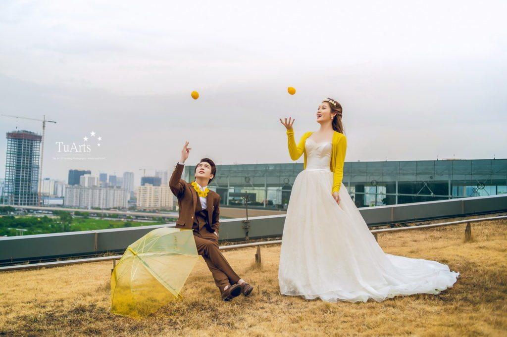 Album ảnh cưới đẹp của Á Hậu Huyền My - Hot Boy B Trần 8