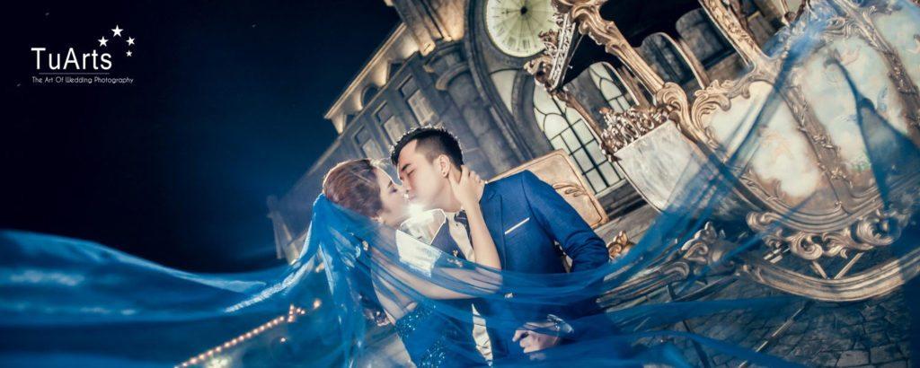 Ảnh cưới đẹp chụp tại phim trường ở Hà Nội