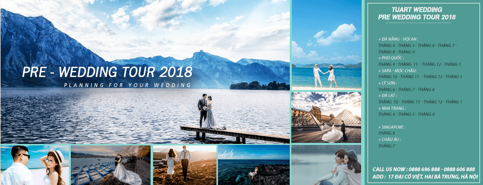 tour chụp hình cưới của TuArt