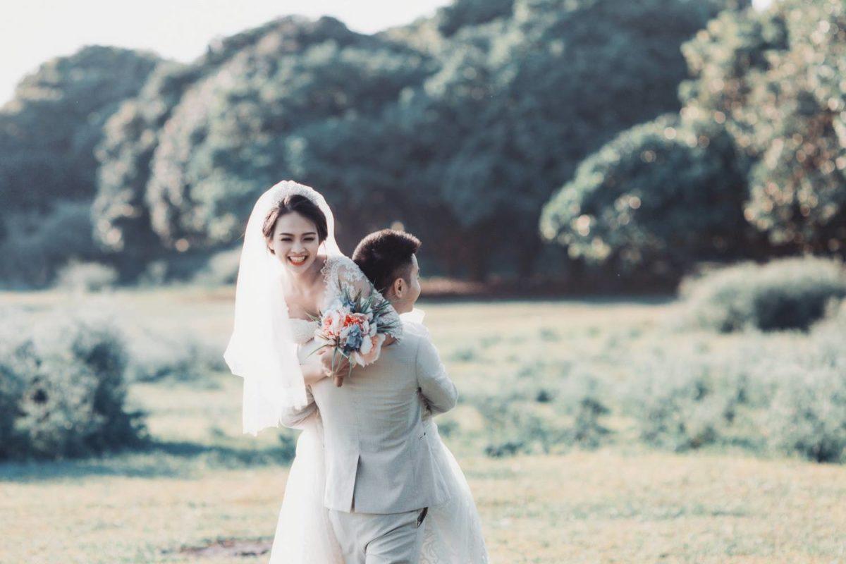 chụp ảnh cưới đẹp ở vườn nhãn