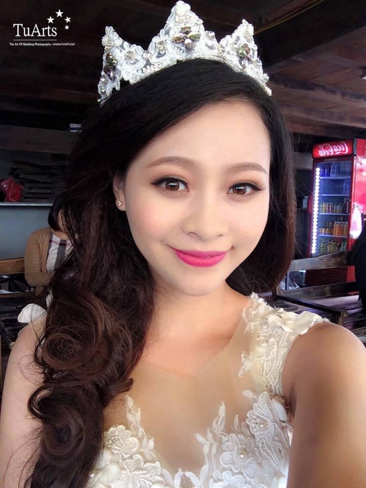 Phong cách trang điểm cô dâu hiện đại, nhẹ nhàng 5