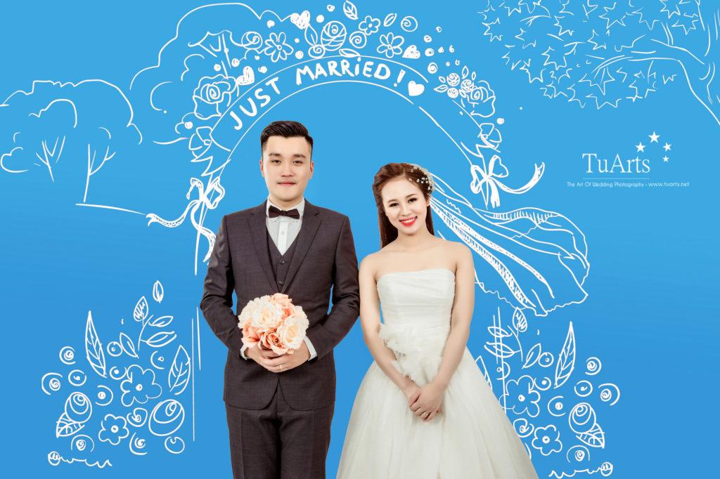 ẢNH CƯỚI HÀ NỘI: Album ảnh cưới độc đáo, ngộ nghĩnh