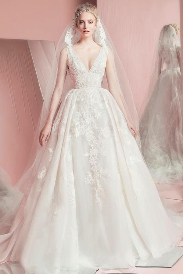 Ảnh viện áo cưới đẹp nhất Hà Nội: Cập nhật mẫu váy cưới Xuân/Hè 2016