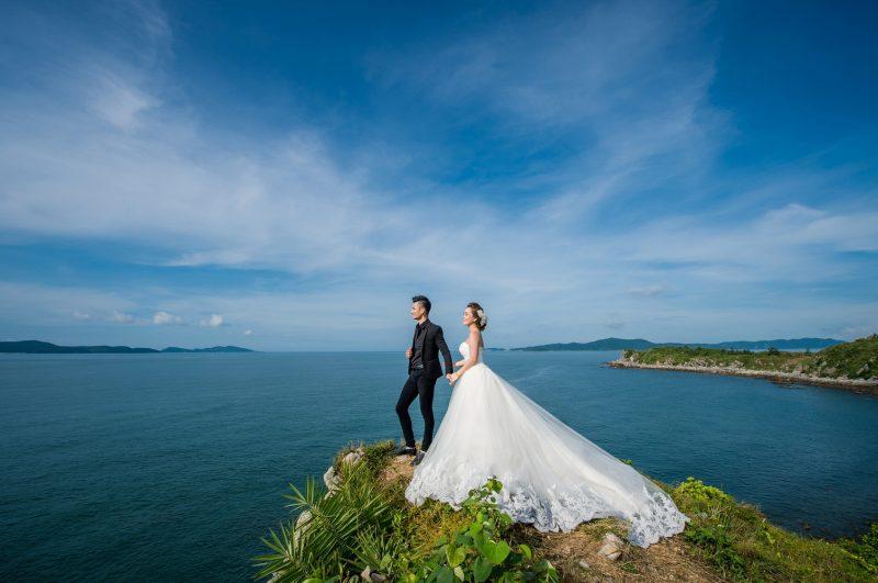 ảnh cưới đẹp ở Quảng Ninh