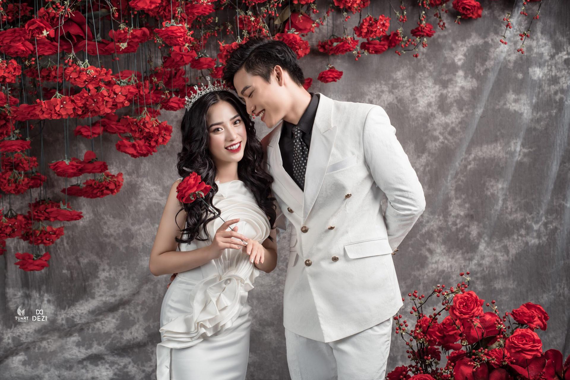 Album ảnh cưới Hàn Quốc tại Studio