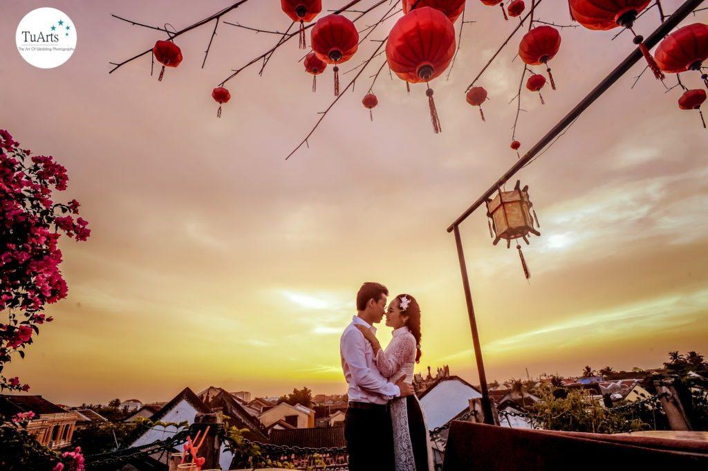 Chụp hình cưới lãng mạn