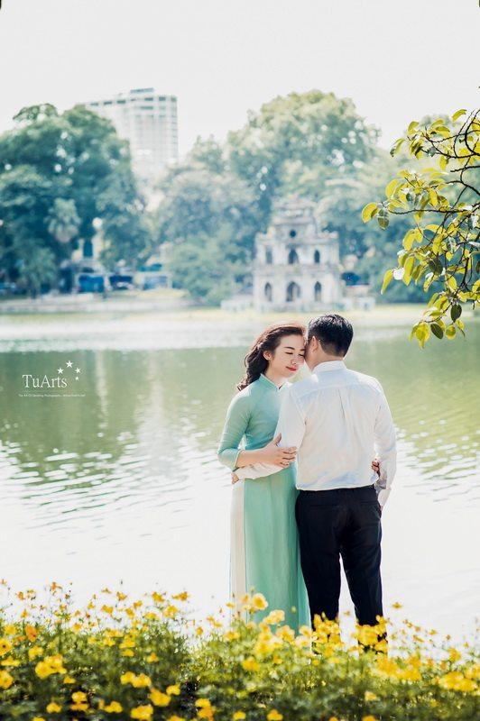 Những địa điểm chụp ảnh cưới đẹp lung linh ở Hà Nội 19