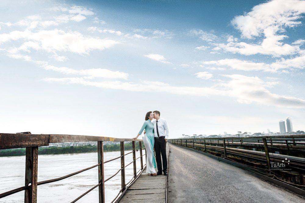 4 Lưu ý khi lựa chọn áo dài chụp ảnh cưới 5