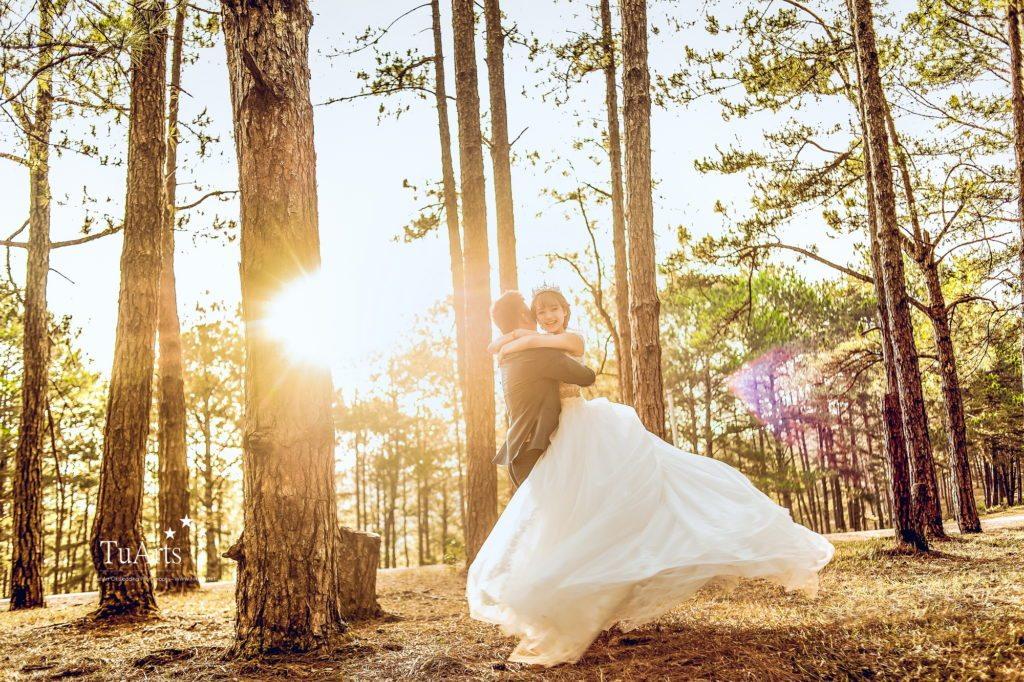 Chia sẻ kinh nghiệm khi chụp ảnh cưới hà nội ngoại cảnh 4