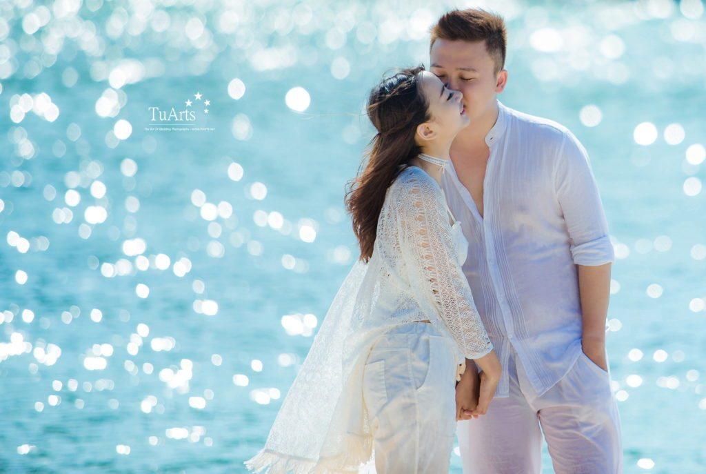 Một số cách tạo dáng chụp ảnh cưới 3