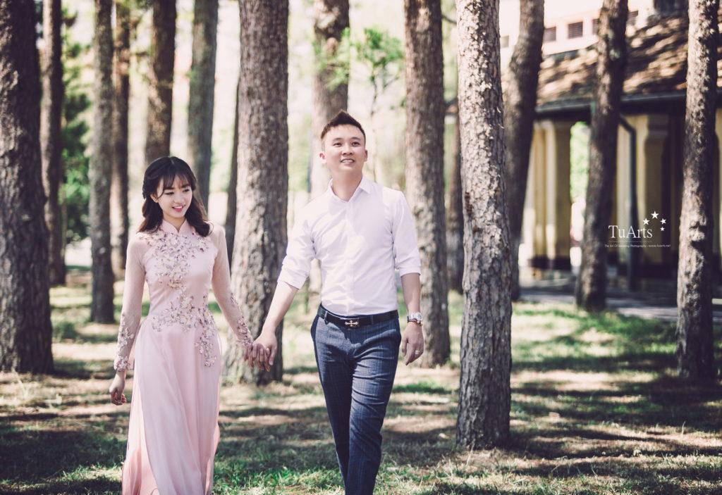 4 Lưu ý khi lựa chọn áo dài chụp ảnh cưới 8