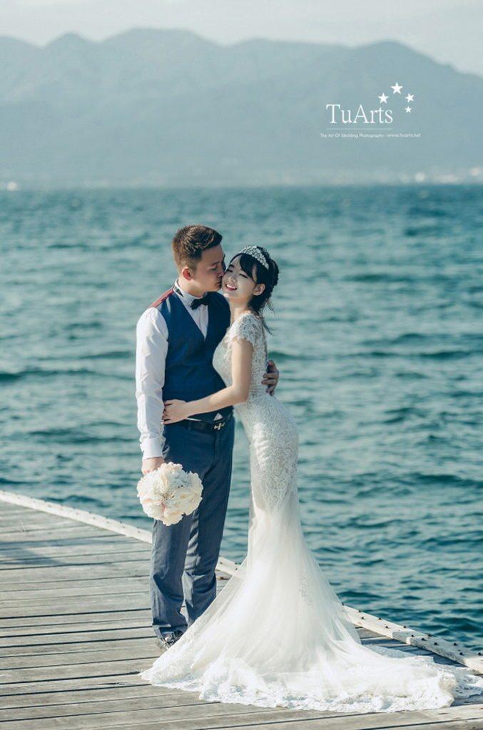 Một số cách tạo dáng chụp ảnh cưới 4