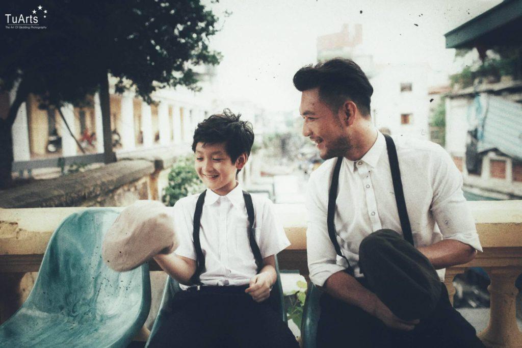 Album ảnh gia đình : Bố ơi mình đi đâu thế??