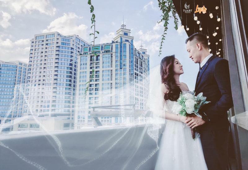 chụp ảnh cưới đẹp phim trường