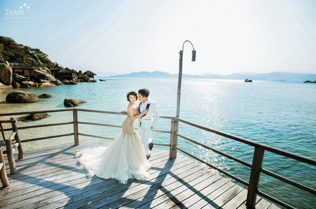 Tổng hợp những địa điểm chụp ảnh cưới đẹp Nha Trang có thu phí
