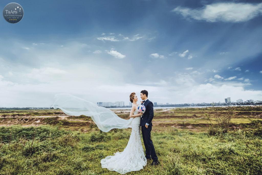 Chụp ảnh cưới đẹp tại Vườn Nhãn