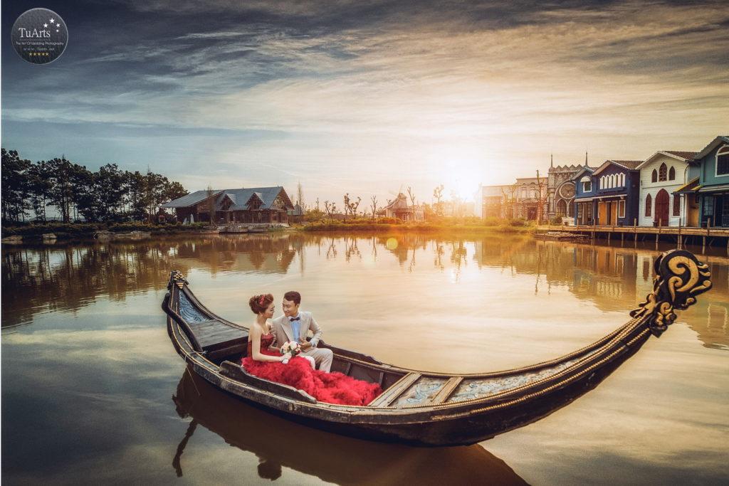 Smiley Ville – Phim trường chụp ảnh cưới đẹp ở Hà Nội