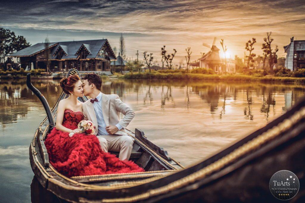 chụp ảnh cưới đẹp ở phim trường Hà Nội