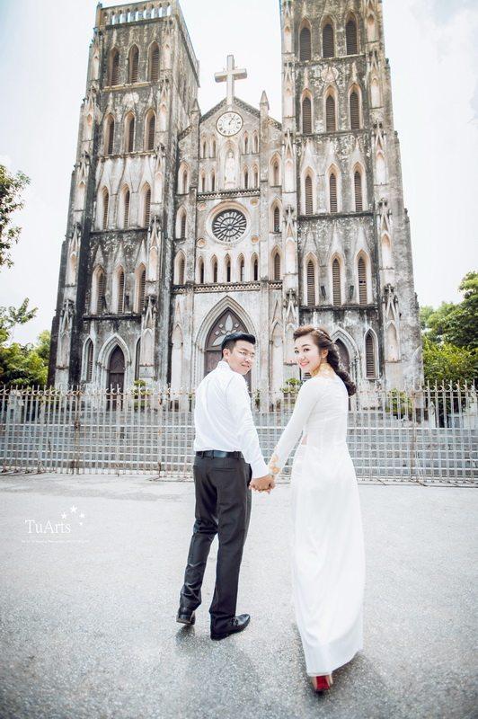 Địa điểm chụp ảnh cưới Hà Nội lãng mạn cho các cặp đôi 2