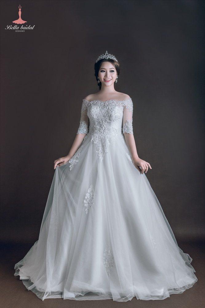 Kinh nghiệm chọn váy cưới đẹp ở Hà Nội 3