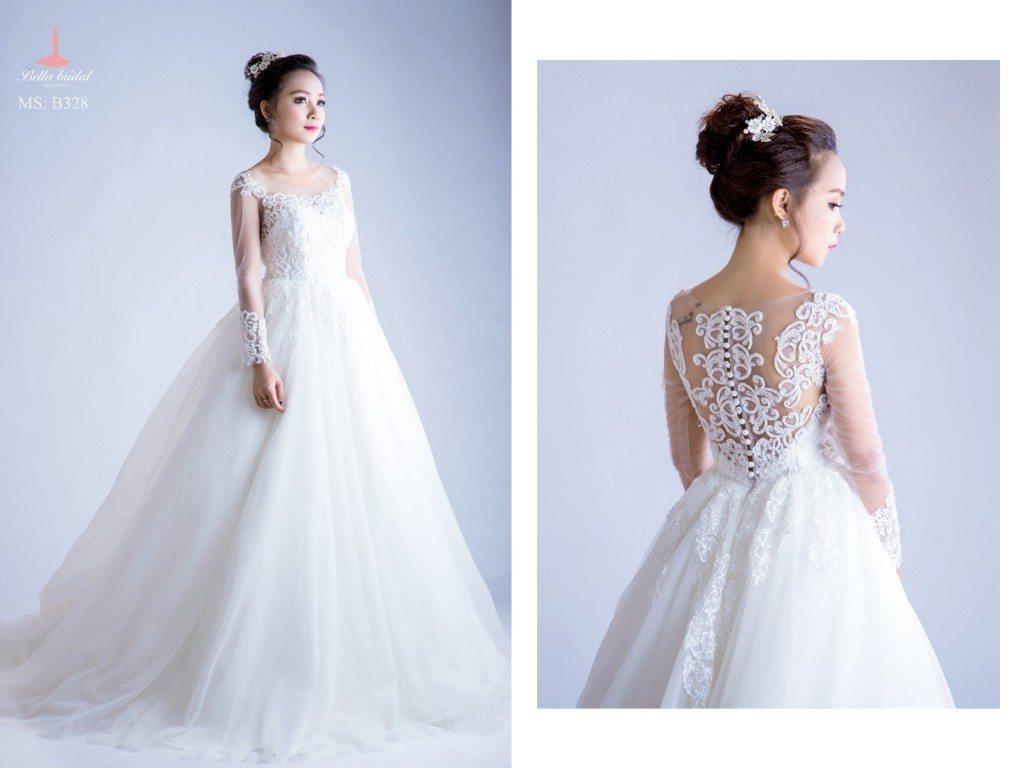 Kinh nghiệm chọn váy cưới đẹp ở Hà Nội 5